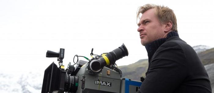 Christopher Nolan directing Interstellar
