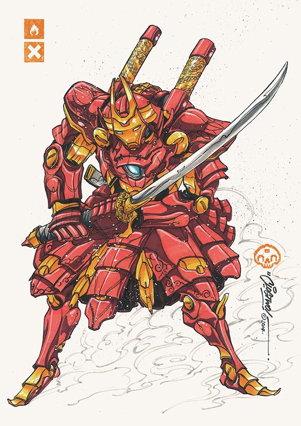 Clog-Two-Iron-Giants-Series-Iron-Shogun