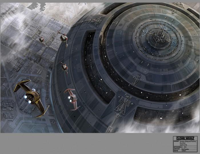 Clone Wars Bad Batch Concept Art