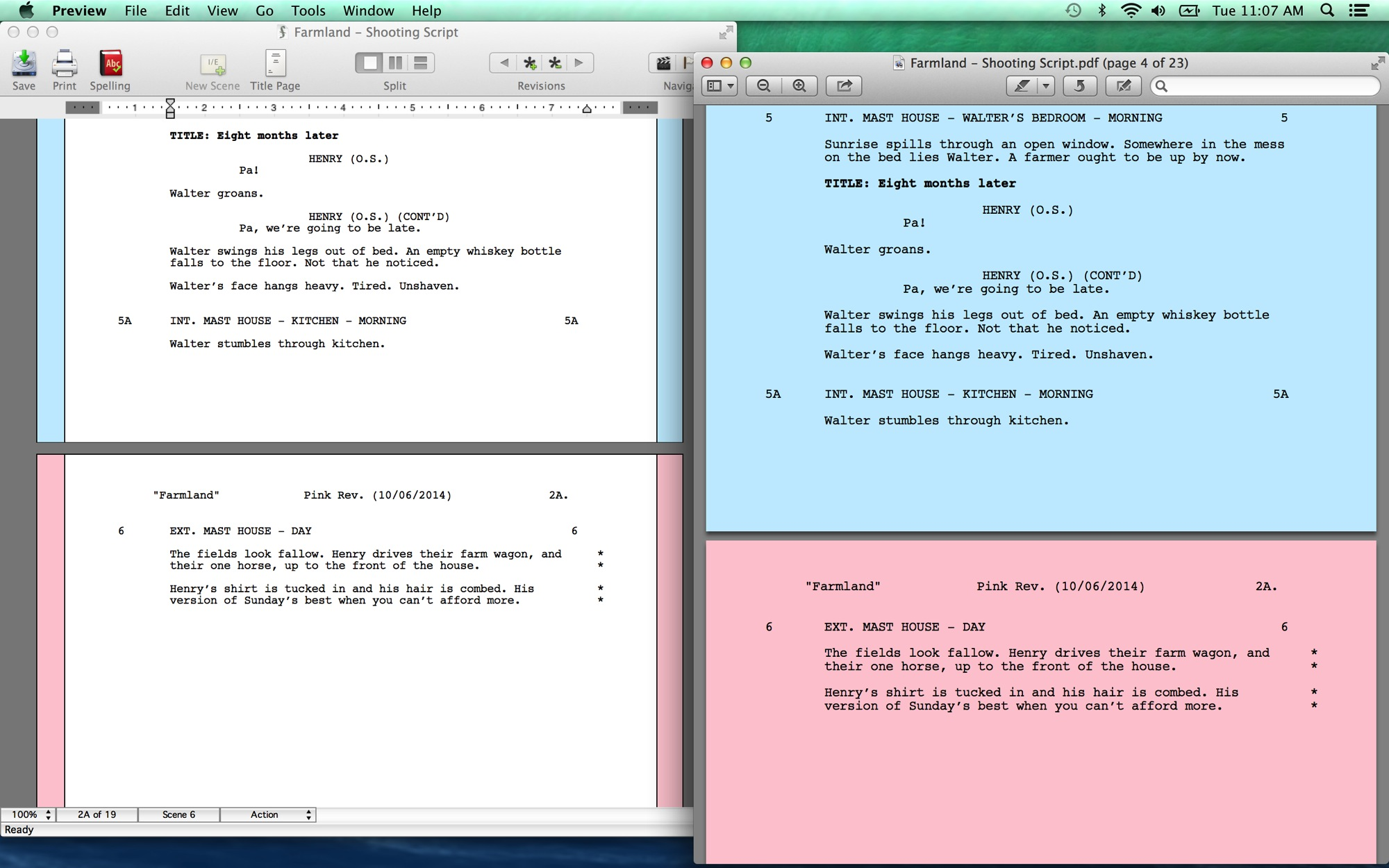 I Did Find This Tab Useful For Quickly Hopping Through The Script To Track How One Character Evolves Colored Pages
