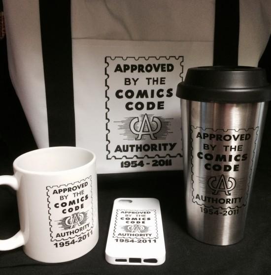 Comics Code merch