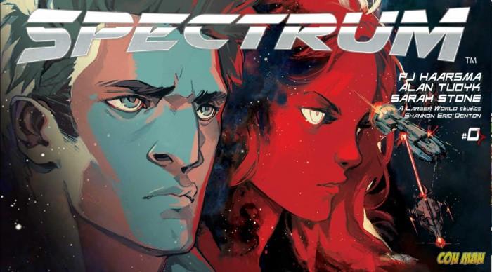 Con Man Spectrum motion comic