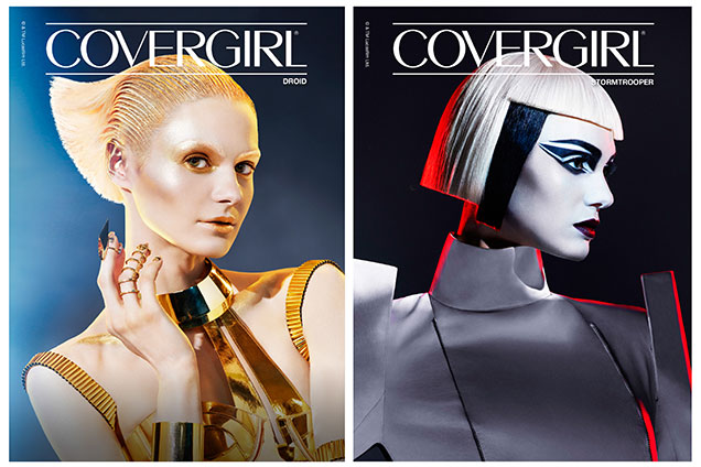 CoverGirl Star Wars Droid and Stormtrooper