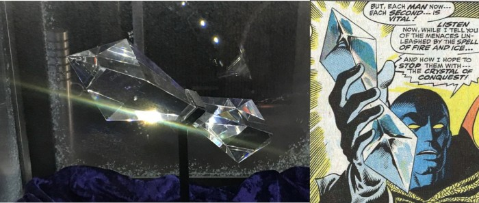 Crystal of Conquest in Mission Escape