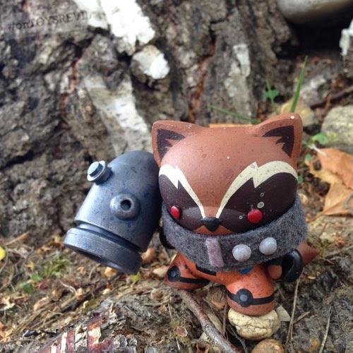 Custom Rocket Raccoon