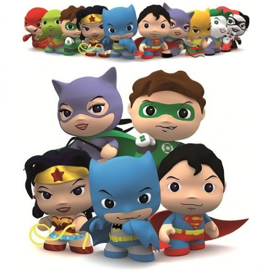 DC-Comics-Little-Mates-Keychains