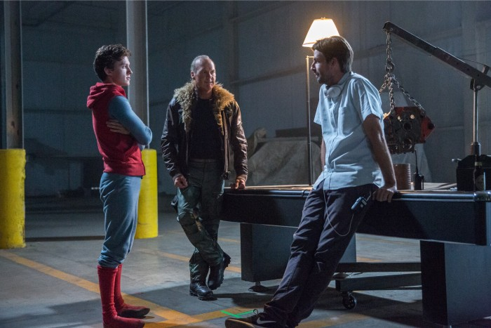 jon watts behind the scenes of Spider-man: Homecoming