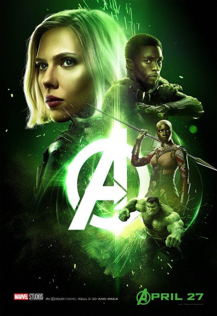 Black Widow infinity war poster