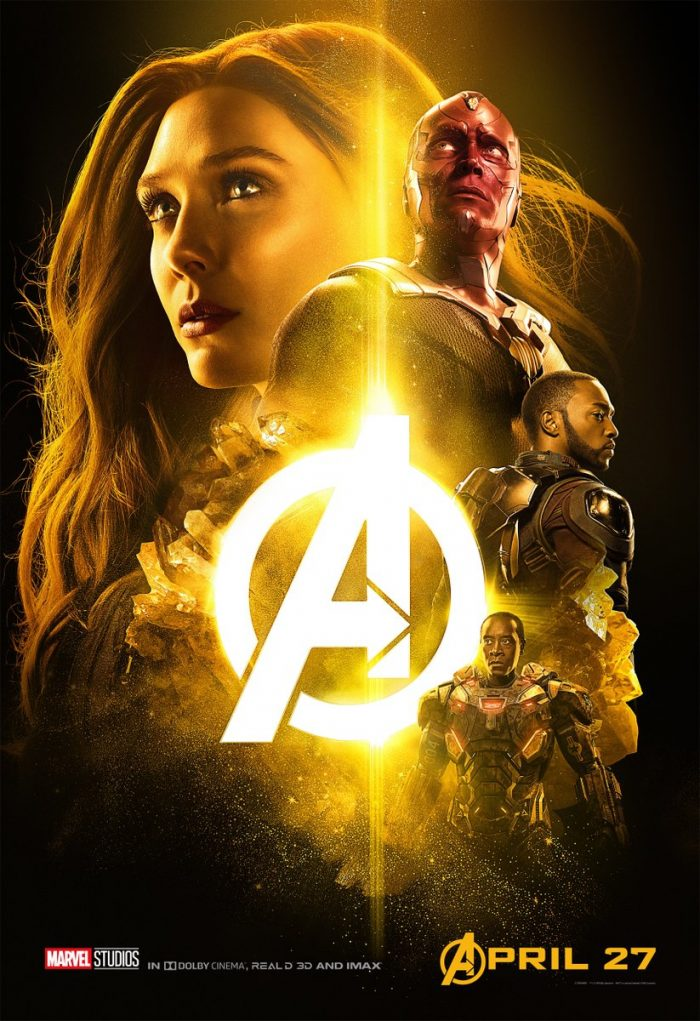 Scarlet Witch infinity war poster