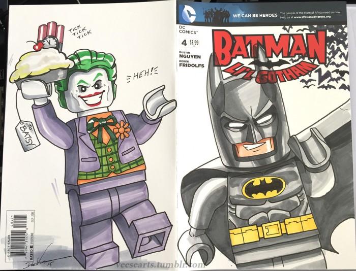 Dan Veesenmeyer Batman Lego