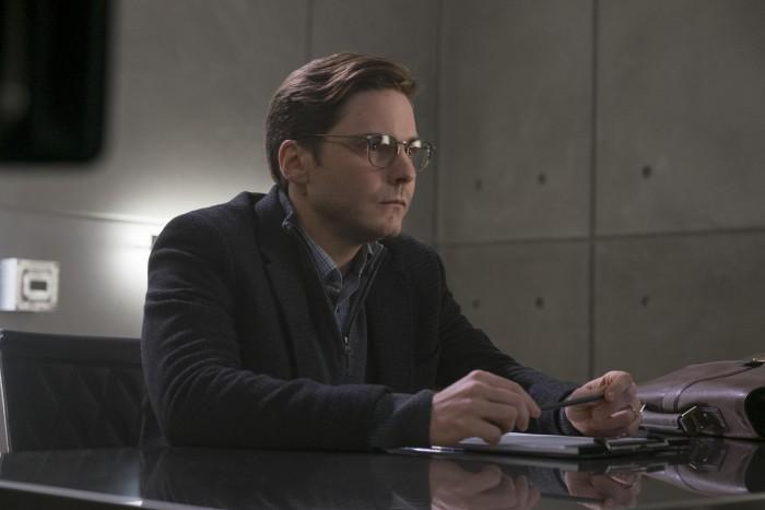 Daniel Bruhl as Helmut Zemo in Captain America Civil War