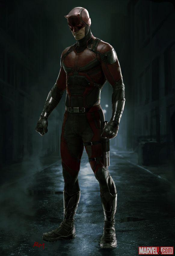 Daredevil Costume Costume art