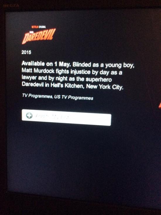 Daredevil release