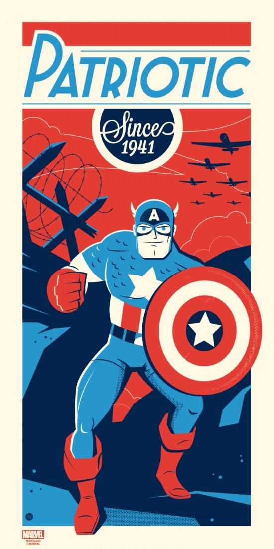 Dave Perillo - Captain America