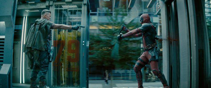 Deadpool 2 action
