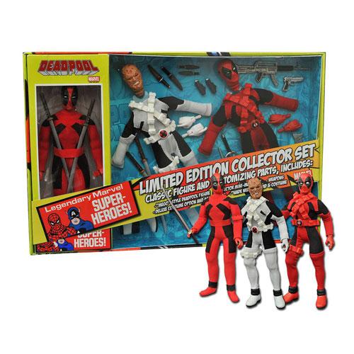 Deadpool retro action figures