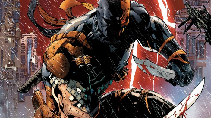 Justice League villain Deathstroke