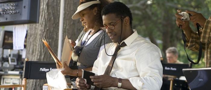 Denzel Washington directing The Great Debaters