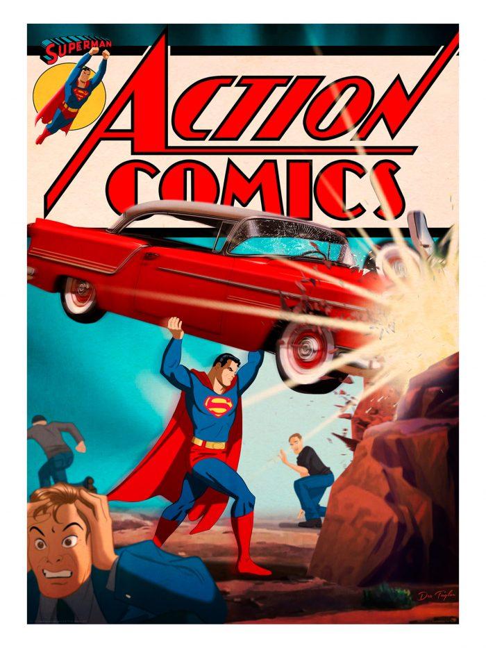 "Des Taylor ""Action Comics #1"" Giclee"