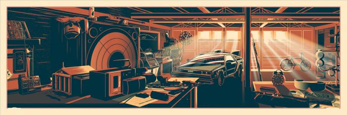 The Desk of Doc Brown by Fringe Focus
