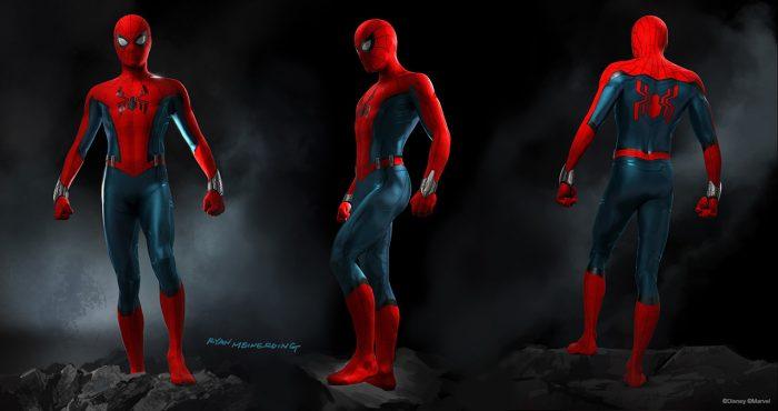 Disney Parks Spider-Man suit concept art