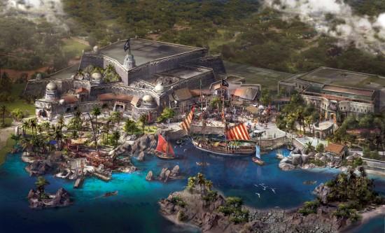 Disney Pirates Treasure Cove