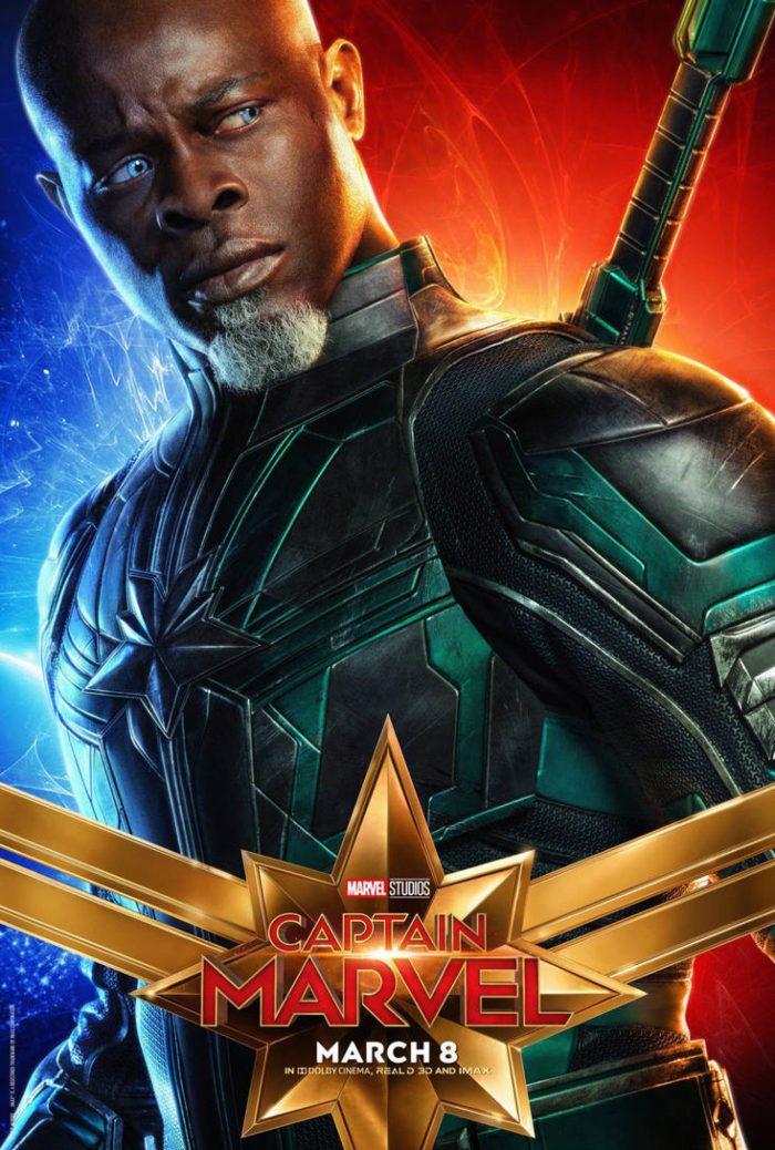 Djimon Hounsou as Korath Captain marvel