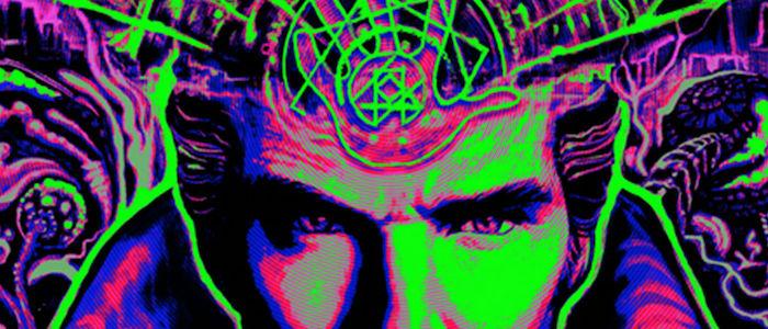 Doctor Strange Blacklight Poster Header