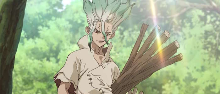 Dr Stone Is A Hilarious Anime About The Power Of Science Film