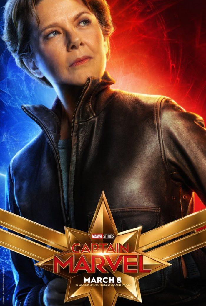 Annette Bening Captain Marvel