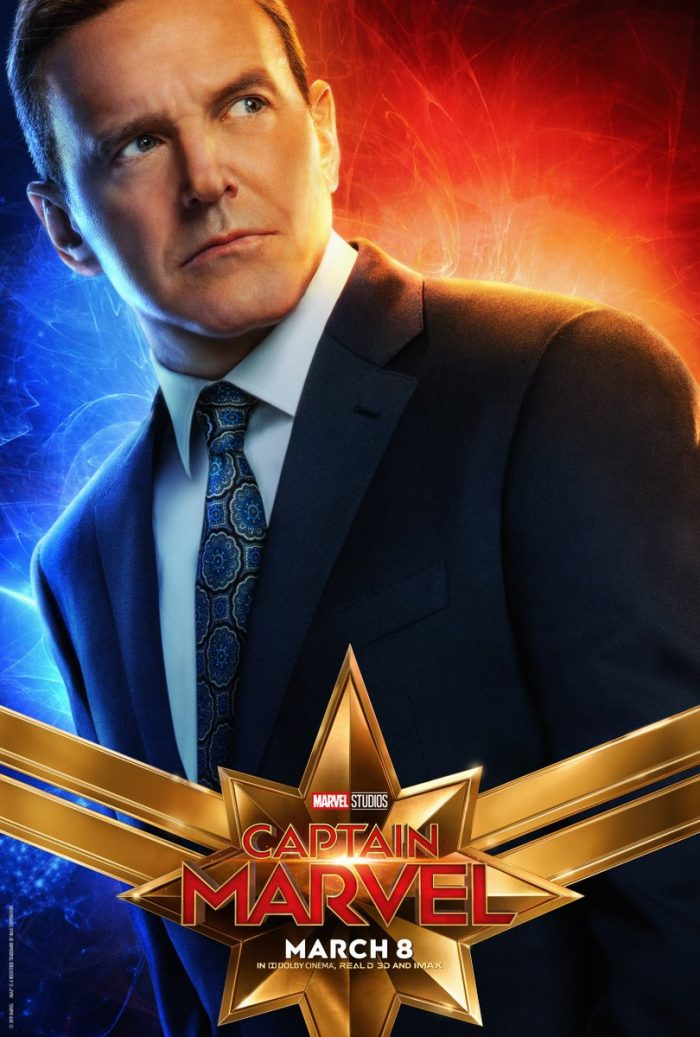 Phil Coulson character poster