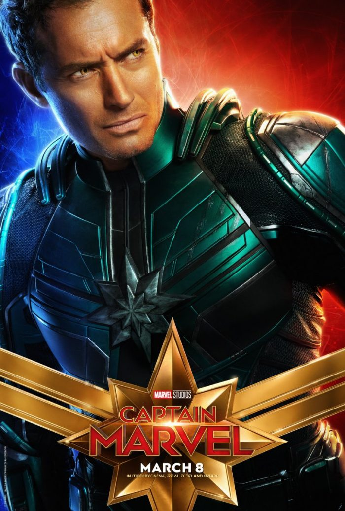 Mar-Vell character poster