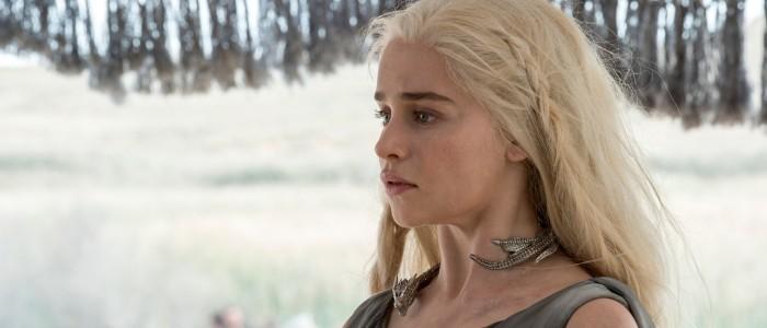 Emilia Clarke as Daenerys Targaryen in Game of Thrones Season 6
