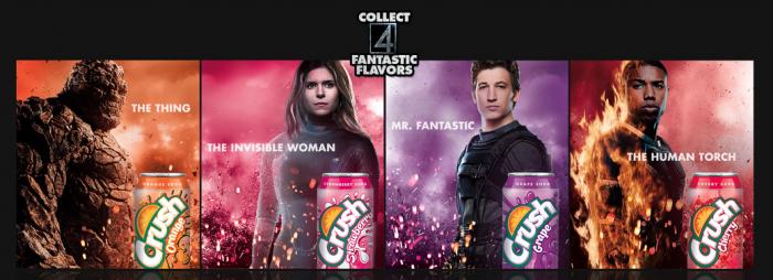 Fantastic Four Crush soda