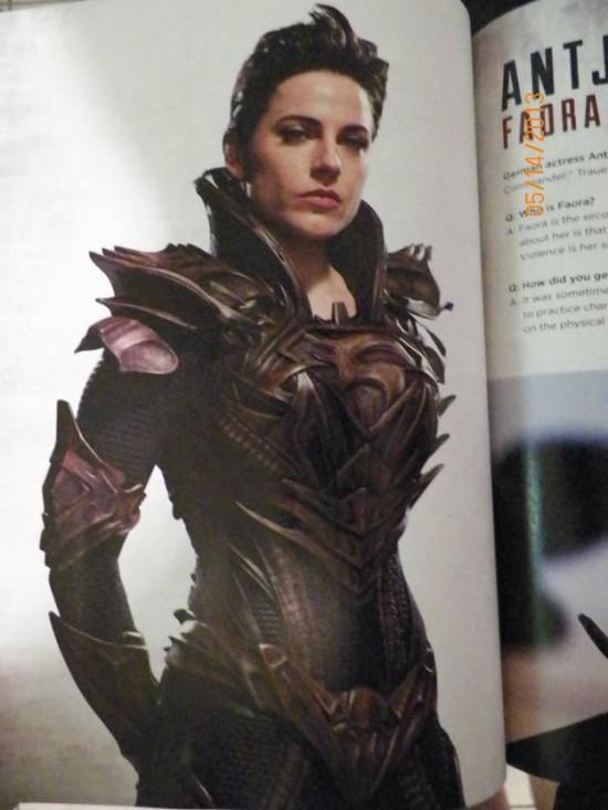 Faora MOS magazine