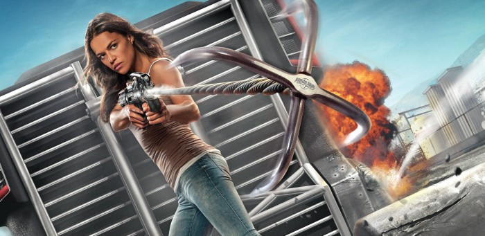 Fast Furious-Supercharged Michelle Rodriguez