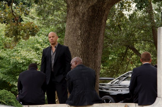 Fast and Furious 7 funeral