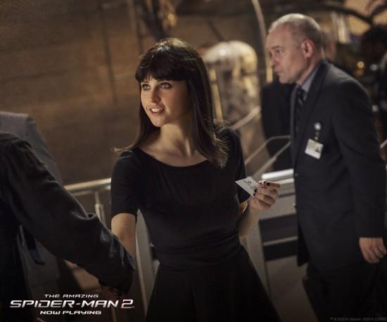 Felicity Jones Amazing Spider-Man 2