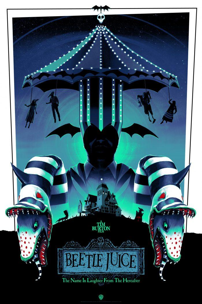 "Matt Ferguson ""Beetlejuice"" Variant Screen print"