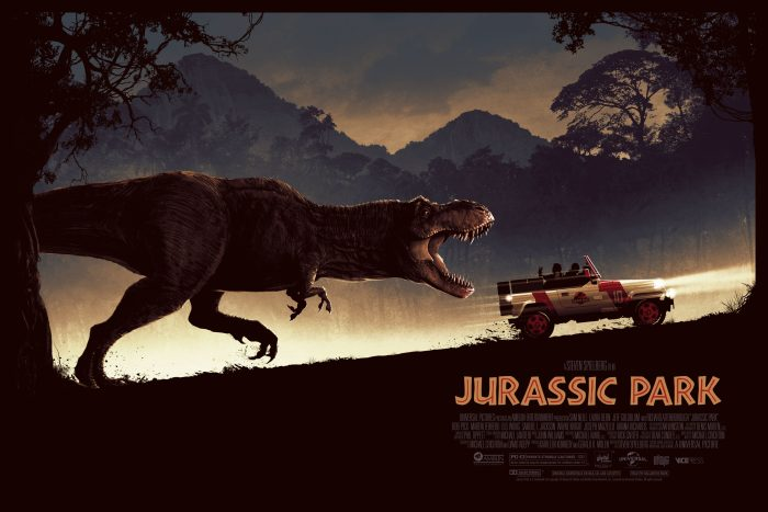 "Matt Ferguson ""Jurassic Park"" Screen print"