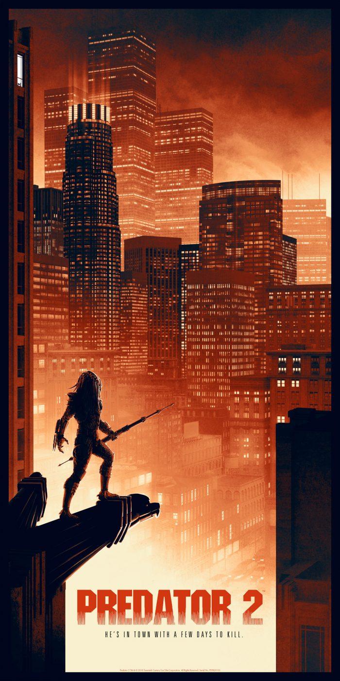 "Matt Ferguson ""Predator"" Screen print"