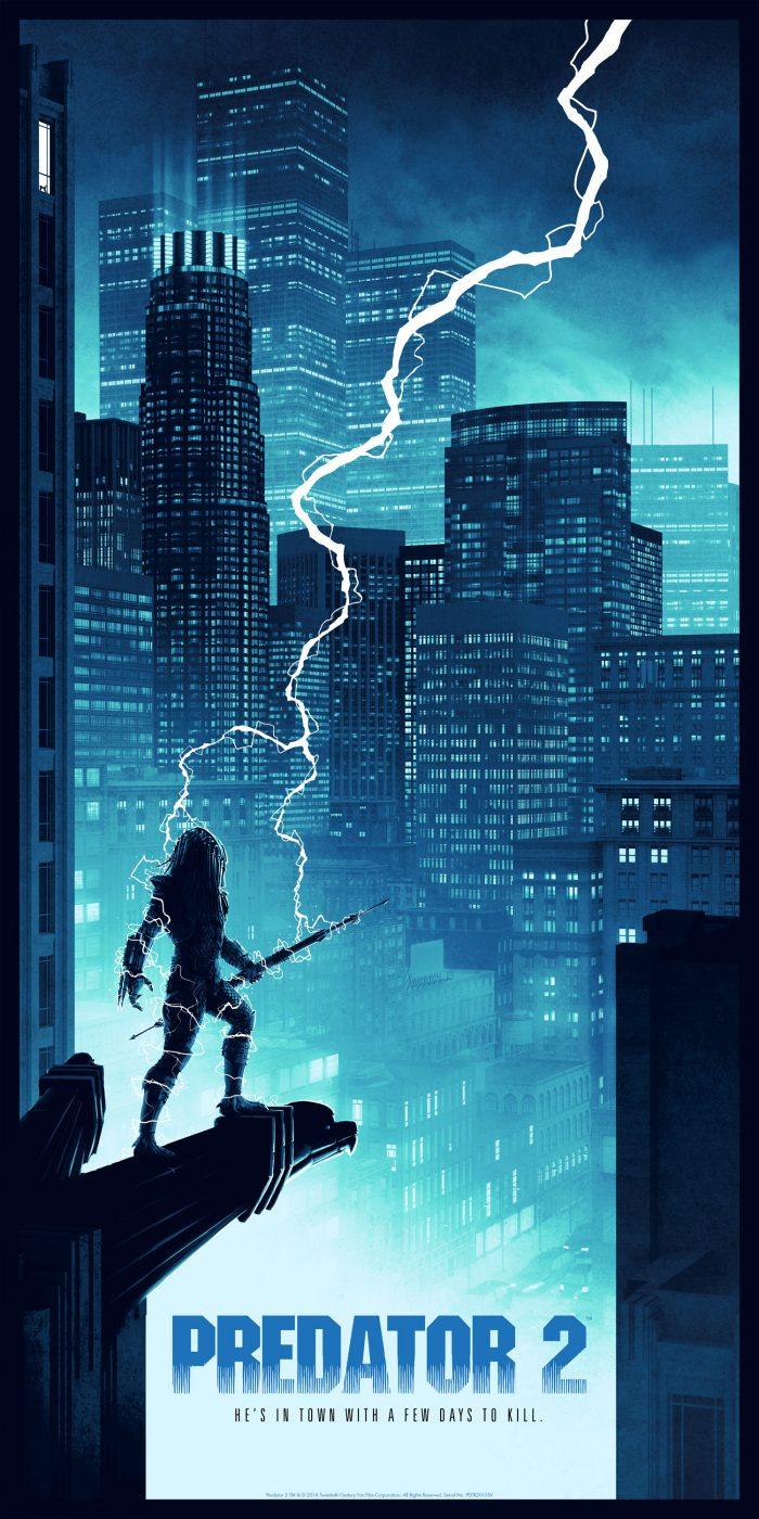 "Matt Ferguson ""Predator"" Variant Screen print"