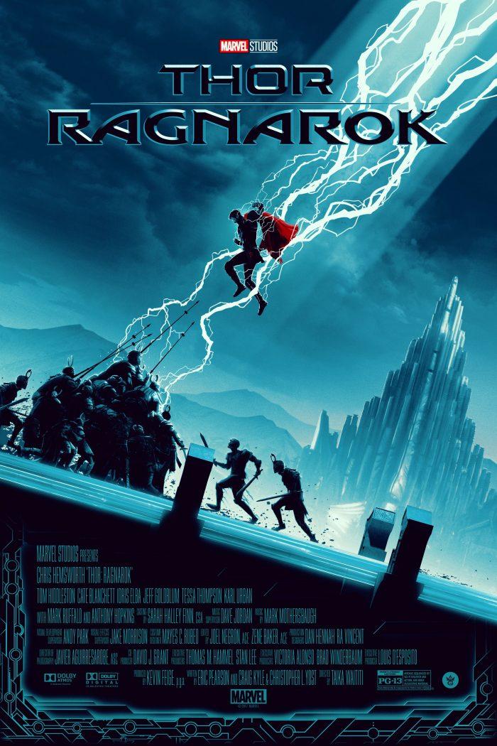 "Matt Feguson ""Thor: Ragnarok"" Screen print"