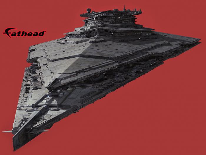 Star Wars: the Force Awakens star destroyer - Finalizer