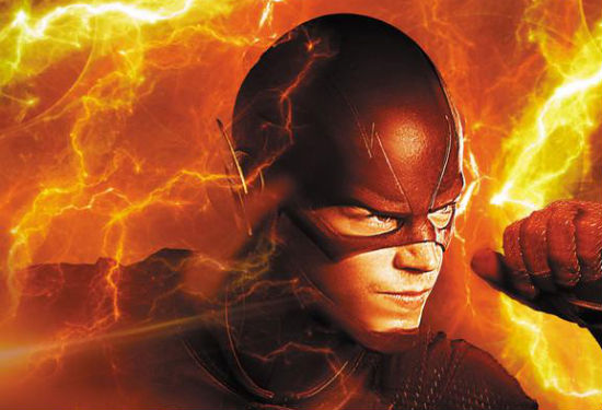 Flash TV Show Comic header