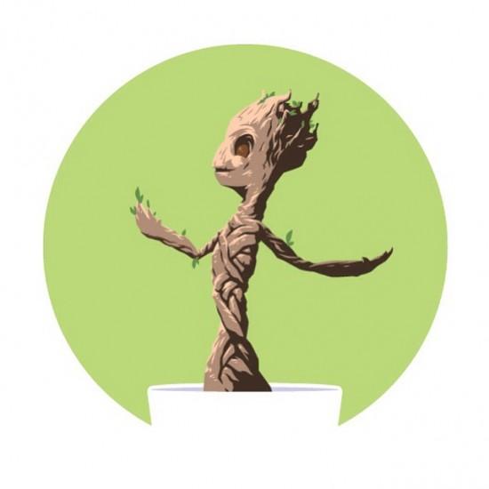 Florey Baby Groot