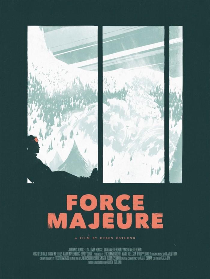 Force Majeure Screenprint