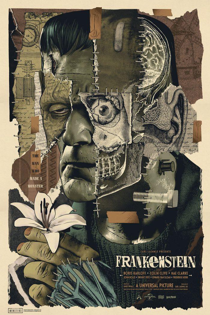 Frankenstein poster regular