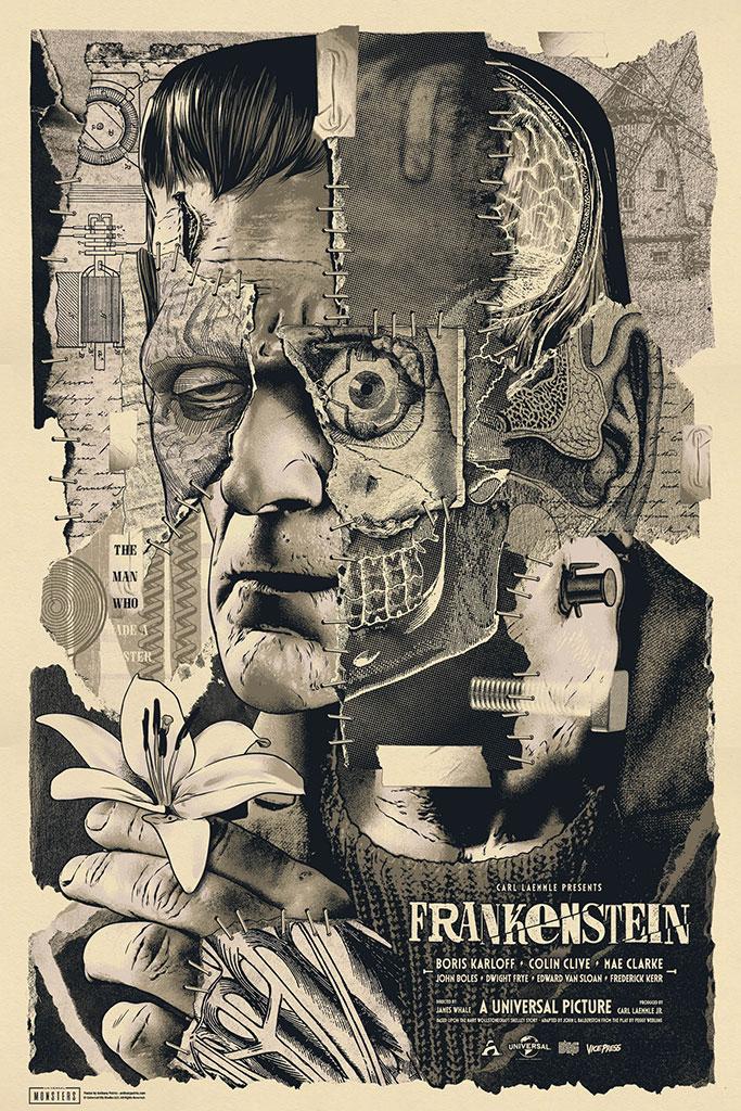 Frankenstein poster variant