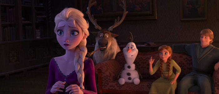 Frozen II charades scene
